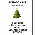 Tract Scratch Me Christmas Tree Cover (Small)