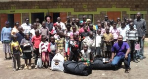 45 orphans where Crossway donated two duffel bags of clothesCOM