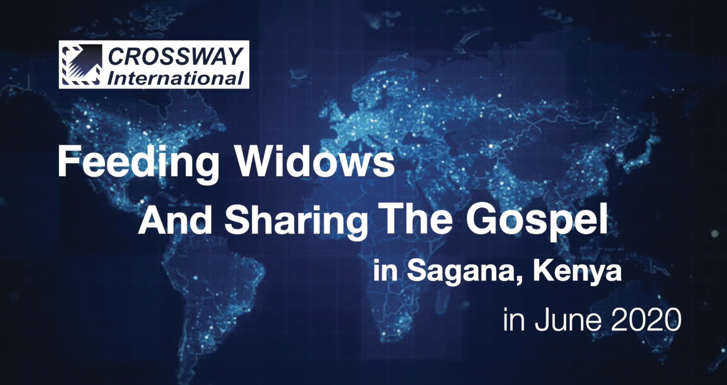 June 2020 Widow Outreach in Sagana Kenya – 1 minute slideshow